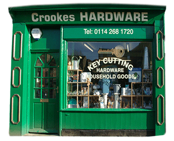 Welcome to Crookes Hardware